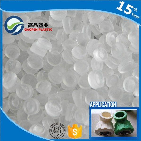 PP Plastic Raw Material Plastic dana PP Particle White Color Toughening Masterbatch