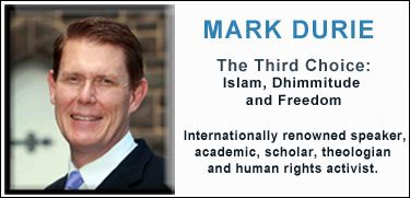 Mark Durie, Human RIghta Activist, Scholar of Islam. Books include: The Thirds Choice, on the 3 choices given non-Muslims under Islam. Conversion to Islam, death, or dhimmi status / meaning very low status which includes a tax. For more on Mark Durie, come to: http://www.worldtruthsummit.com/mark-durie.html