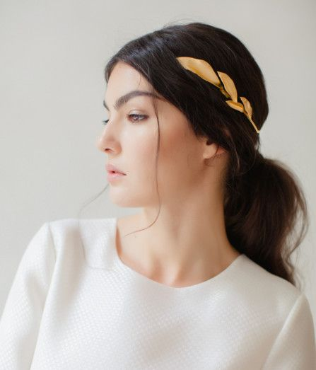 Grecian Goddess - Hair Halos for the Princess Bride - Photos