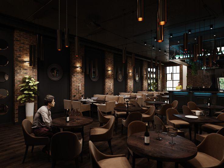 Interior render  3d's Max Corona Render Photoshop