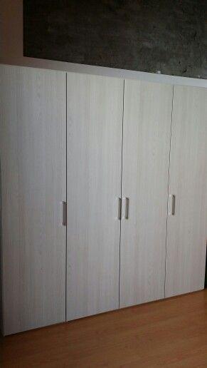 Módulo 4 puertas / Dormitorio / Teka Ártico