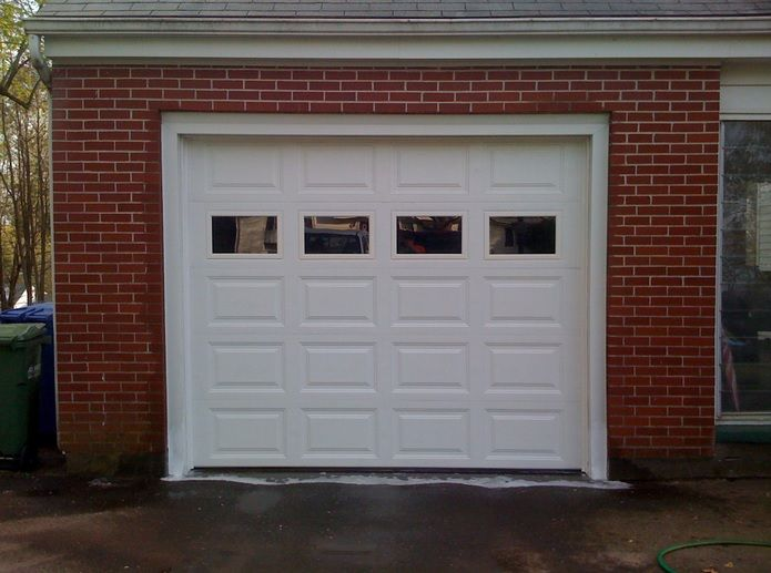 White garage door replacement windows inserts