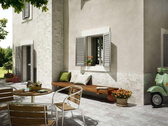Perfect gres smaltato per esterni gubbio with colori per - Decorazioni pareti esterne casa ...
