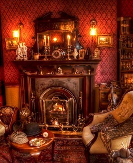 Victorian Library Room: Victorian Home Decor