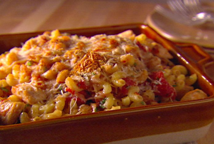 Food Network invites you to try this Italian Baked Chicken and Pastina recipe from Giada De Laurentiis.