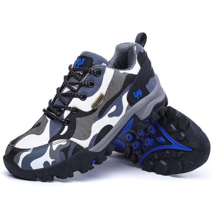 Trekking shoes 2016 Newest style fashion sneakers canvas camouflage men's outdoor shoes women men hiking shoes anti-skid