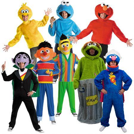 Disfraces de Barrio Sésamo #disfracesoriginales #carnaval #barriosesamo #disfraces #costumes