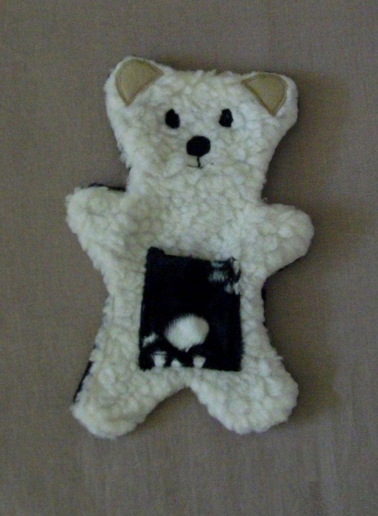 Doudou ourson tout doux avec motifs : Jeux, peluches, doudous par mon-ptit-doudou