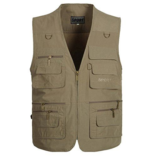 Partiss Mens Plus Size Fishing Shooting Hunting Vest,XL,Khaki Partiss http://www.amazon.co.uk/dp/B00SKJD9FQ/ref=cm_sw_r_pi_dp_wSohvb1CZMQY6