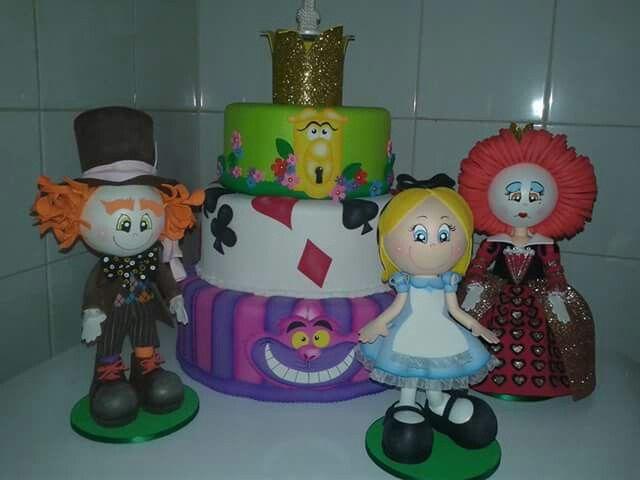 Festa Alice no país das maravilhas!