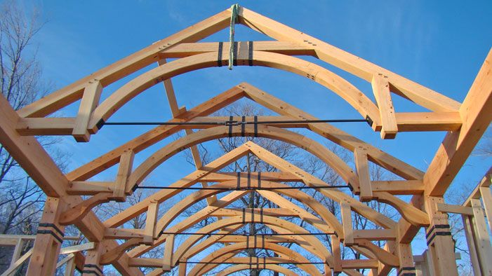 Timber Trusses Timber Frame Blog Featuring Post And Beam