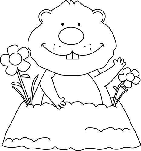 Erfreut Groundhog Day Bilder Zum Ausmalen Fotos - Ideen färben ...