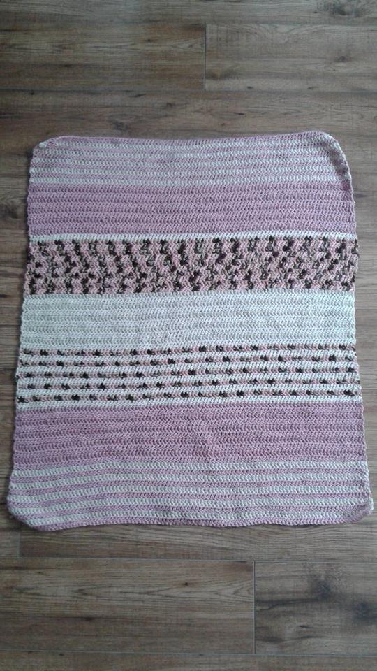 staroružová deka