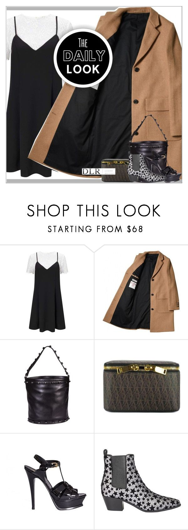 """""""DLRBOUTIQUE.COM"""" by mirachu-1 on Polyvore featuring Miss Selfridge, Borbonese and Yves Saint Laurent"""