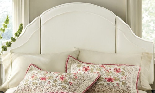 Canvas Headboard - traditional - headboards - Through the Country Door