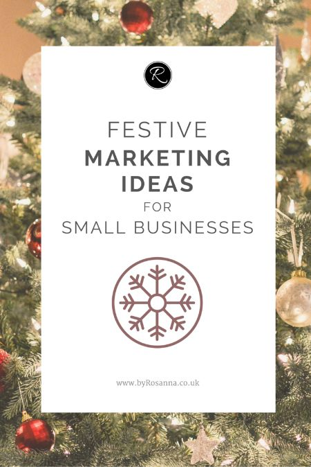 Festive marketing ideas to promote your small business in December!