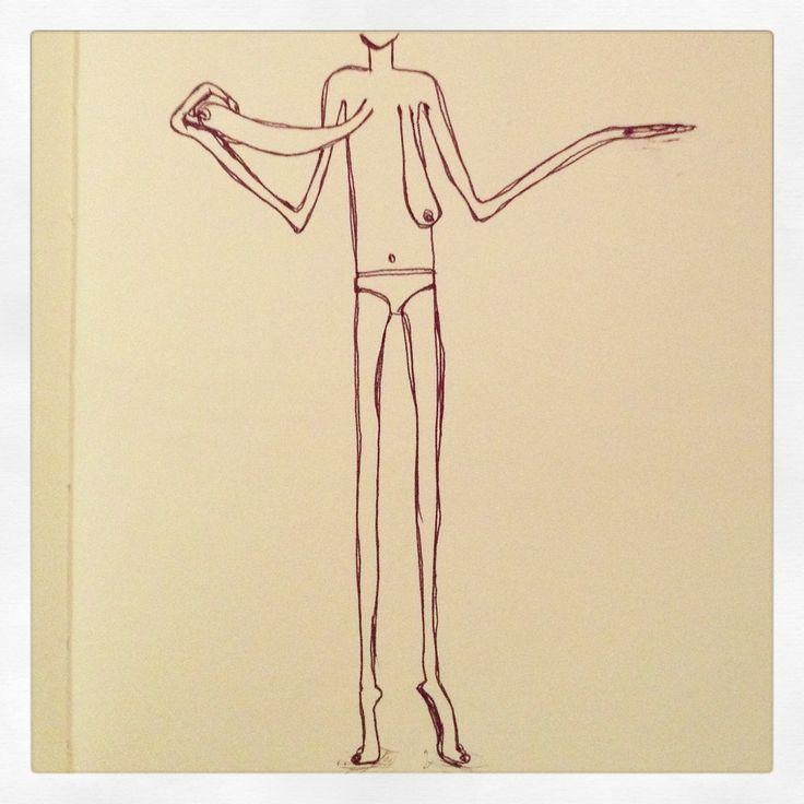 Sketch: Just hanging.