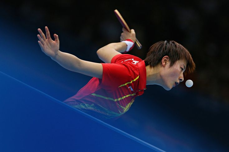 August 4, 2012 - cool shot of china competing in a women's table tennis match