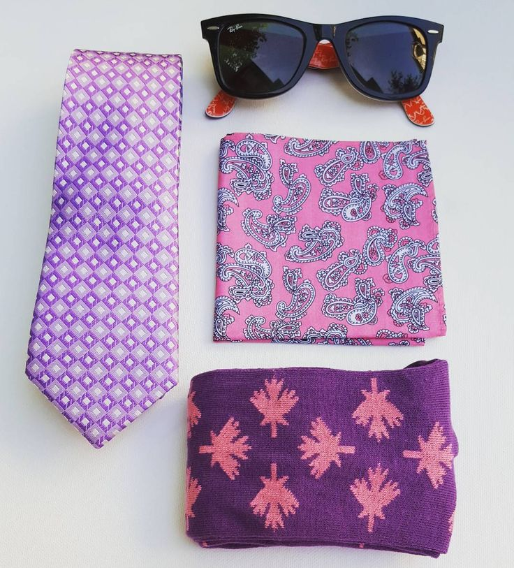 A beautiful day for patriotic polka dot socks! #yourstyleawaits #edc #everydaycarry #mapleleaf #canadafashion #whichcolourareyou #mensfashion #mensaccessories #socks #purple