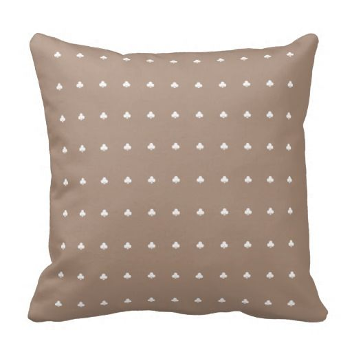 Club Patterned Pillow