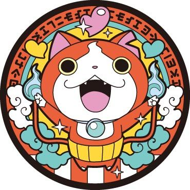 Jibanyan! The cat obsessed with Choco Bars.