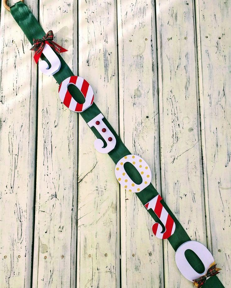 Jojojo Felíz Navidad!!! Diseño Chicoca Deco
