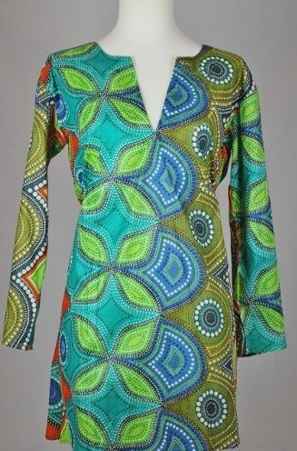 Tunic - Blues and Greens