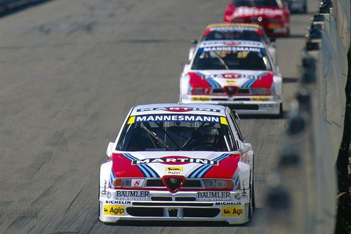 Alfa Romeo 155 V6 TI race car