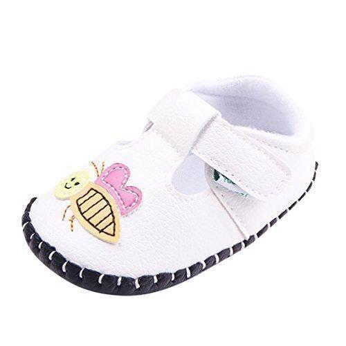 Oferta: 6.69€. Comprar Ofertas de YOUJIA Bebé Niñas Zapatos De Primeros Pasos Moda Bebé Zapatos Suela Suave (Blanco,20EU) barato. ¡Mira las ofertas!