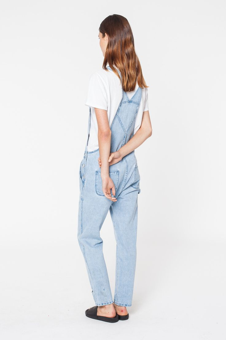 Assembly Label - Grounds Overall Sea Blue