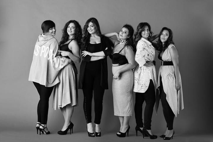 Plus size fashion callendar by beautifulcurvy.com