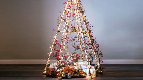 Idee per un albero di Natale ecologico