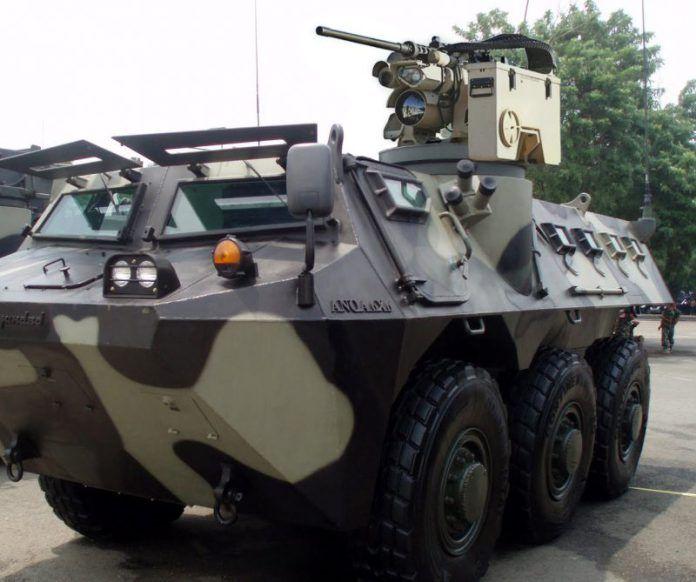 Panser Anoa Pindad Naik Kelas Jakartagreater Kendaraan Militer Militer Kendaraan