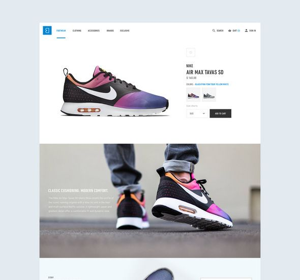 Bree e-commerce - Free PSD