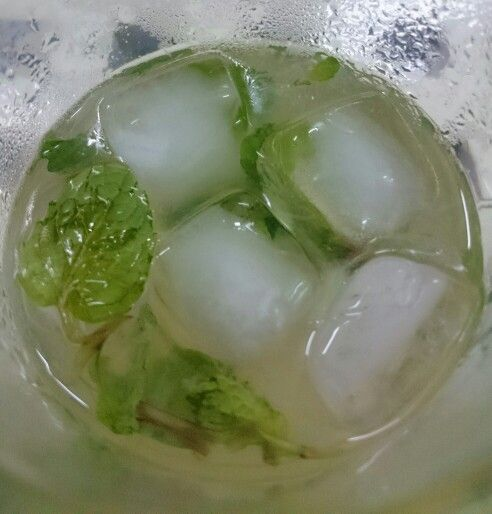 Cucumber syrup for Christmas night.