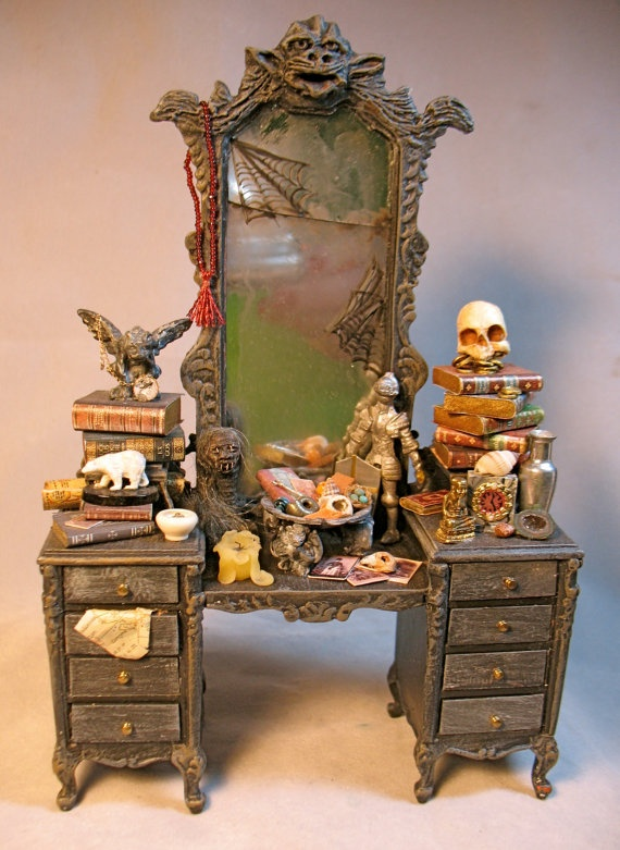 Halloween Dollhouse miniature