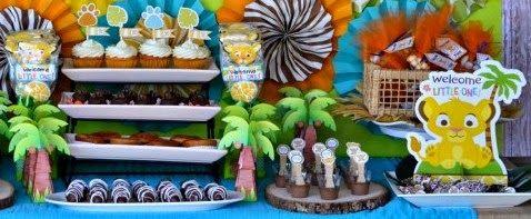 Kit de Simba Bebé para Imprimir Gratis. | Ideas y material gratis para fiestas y celebraciones Oh My Fiesta!