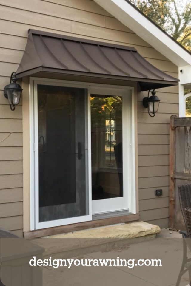 Juliet Style Awning In 2020 House Awnings Metal Door Awning Awning Over Door
