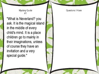 POWERPOINT LESSON Peter Pan Module 3, Unit 1, Lesson 1 for