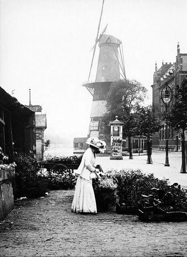 Coolsingel Bloemenverkoop 1900