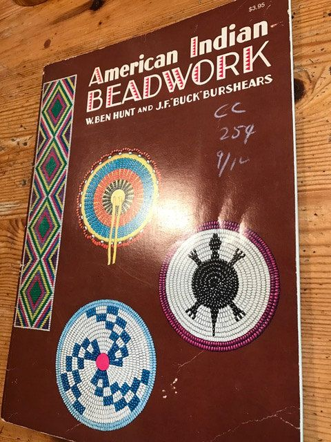 1971 american Indian Beadwork by W. Ben hunt and J F Buck