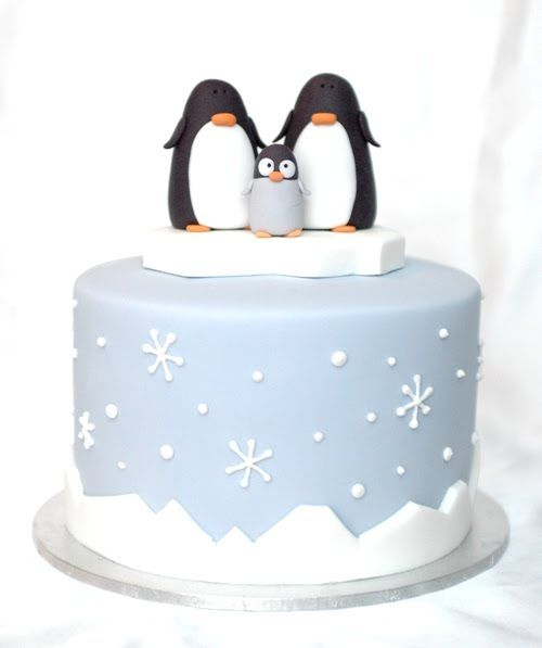 The Cupcake Gallery Blog: Winter Arctic cake