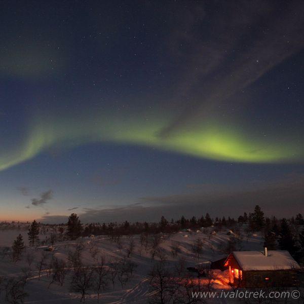 The Northern lights in Näätämö