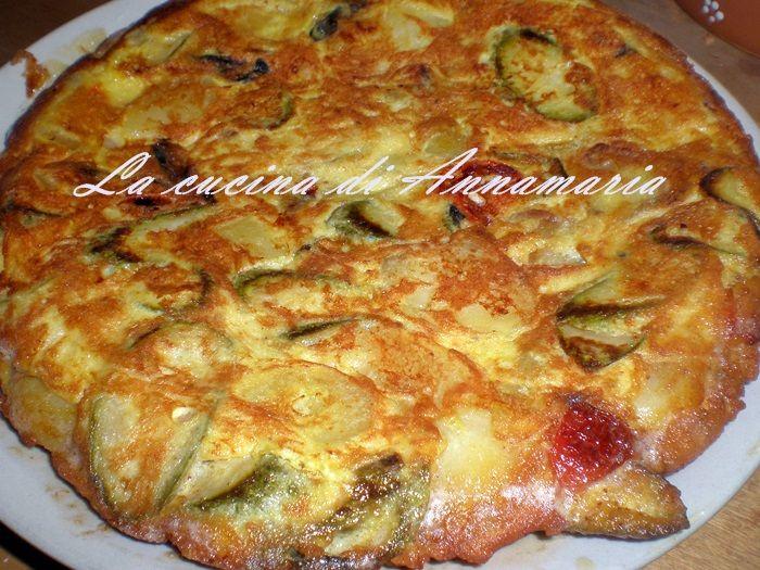 Frittata di patate, zucchine e pomodorini, ricetta finger food