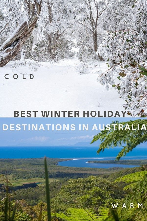 10 of the best winter holiday destinations in Australia