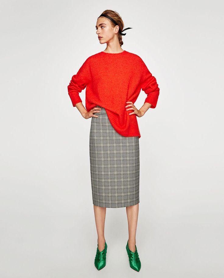 OVERSIZED SWEATER-Sweaters-KNITWEAR-WOMAN   ZARA United States
