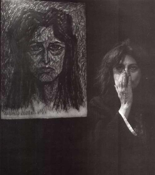 "V.Vosnessensky ""Portrait of Anna Magniani"""