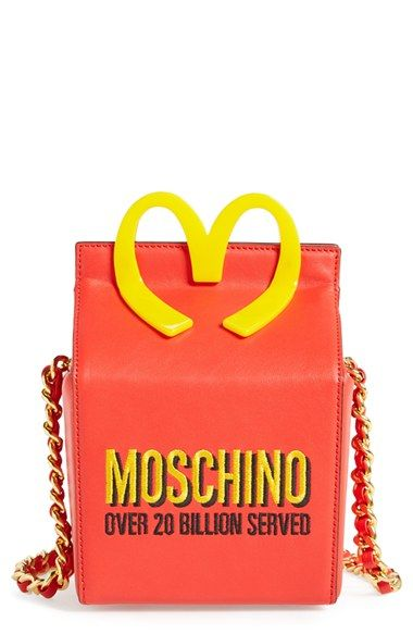 Moschino 'Fast Food - Happy Meal' Shoulder Bag available at #Nordstrom