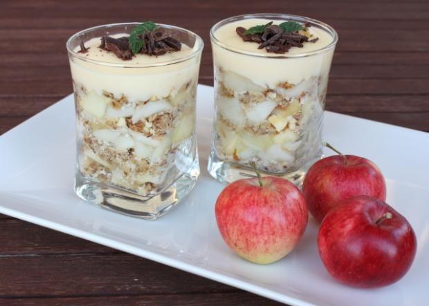 Jablkový pohár, recept | Naničmama.sk