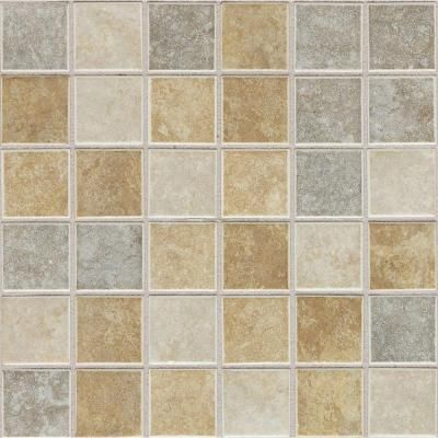 Daltile Island Harbor Sea Oats Blend 12 In X 12 In X 6 Mm Ceramic Mosaic Floor And Wall Tile